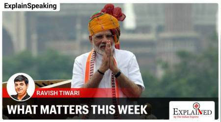 PM Modi independence day speech, PM MODI red fort, independence day, independence day modi speech, India Covid updates, India China tensions, explainspeaking, ram mandir bhumi poojan, indian express