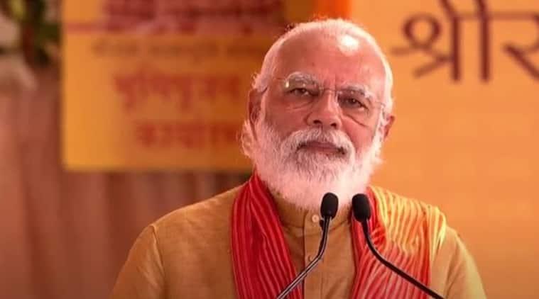 ram mandir, ram temple, ayodhya ram temple, ayodhya ram mandir, ram mandir news, narendra modi ayodhya ram mandir, modi ram mandir, modi ram mandir photos, modi ram mandir images, pm modi, modi, narendra modi, modi news, ram mandir latest news