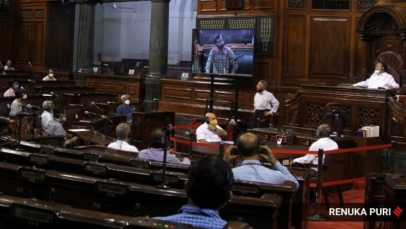 Social Distancing Will Be Maintained during Parliament's Monsoon Session: LS Speaker