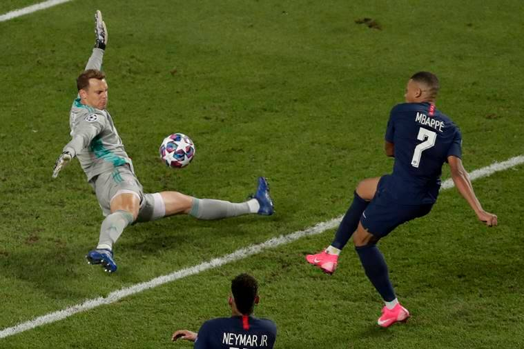 Manuel Neuer, Bayern Munich, Paris Saint-Germain, Champions League, possession keeper, Neuer's spread-eagled method, explained sports, express explained, indian express