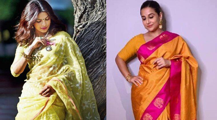 national handloom day, priyanka chopra, vidya balan