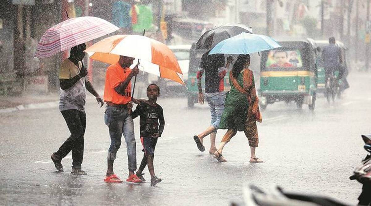 gujarat rains, surat rains, gujarat monsoon, imd, surat weather forecast, gujarat weather forecast, indian express news