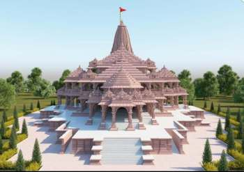 This is how Ram temple in Ayodhya will look like after completion ...