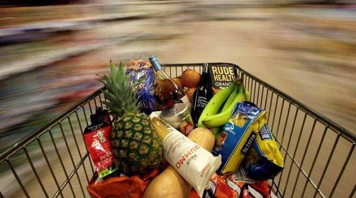 retail inflation, food inflation, retail inflation on food, economy news, business news, indian express