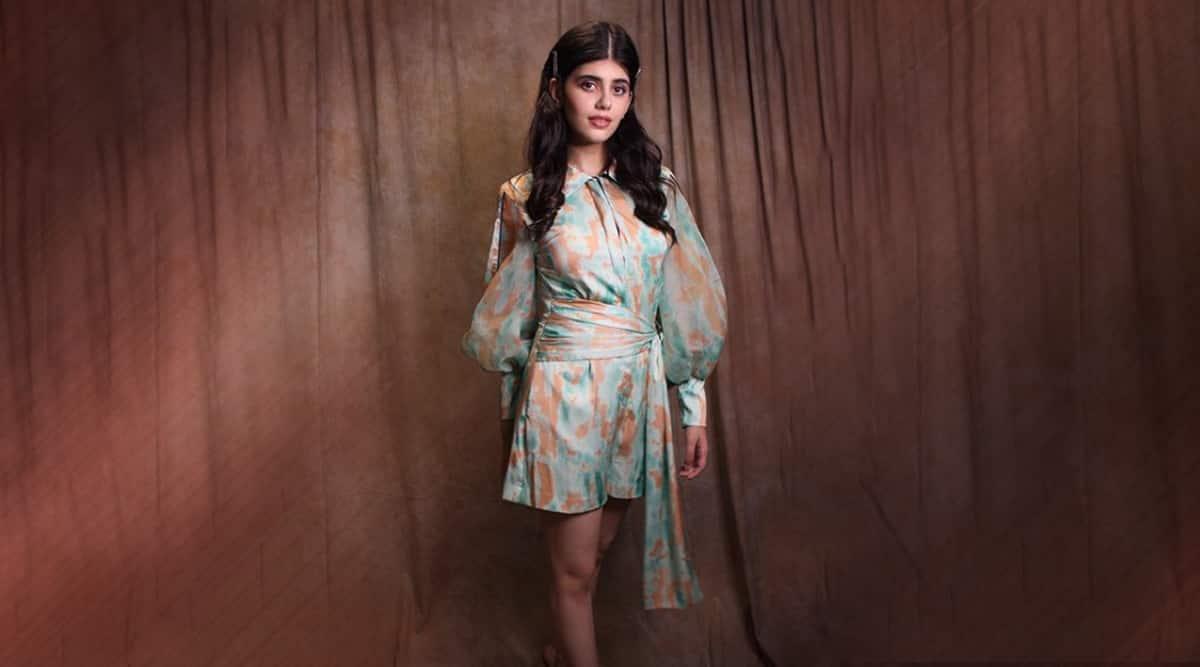 Sanjana Sanghi, fashion