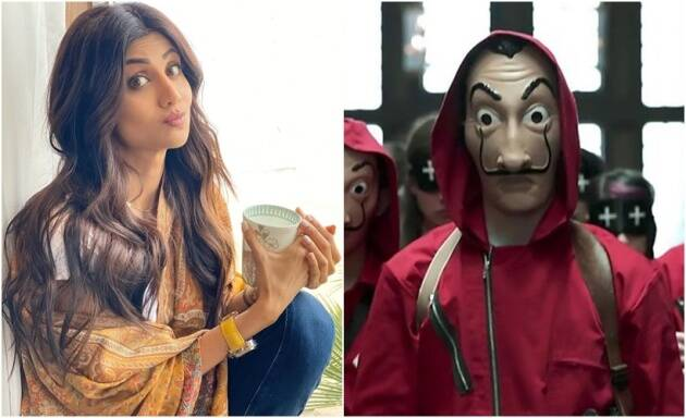 shilpa shetty money heist fan