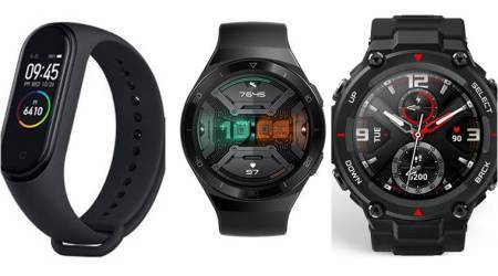 Huami AMazfit Trex, Honor magicwatch 1, honor magicwatch 2, mi band 4, Huawei Watch GT 2e Sport , samsung galaxy watch, amazon prime day deals, amazon prime day smartwatch deals