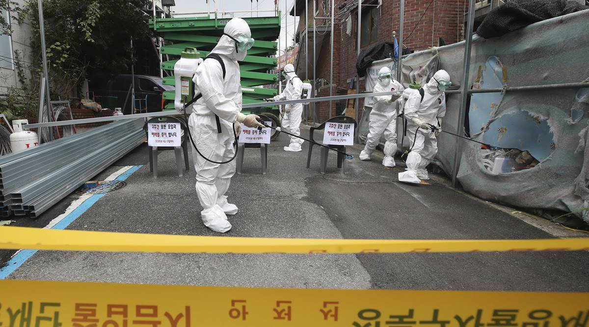 South Korea fears coronavirus infections getting out of control