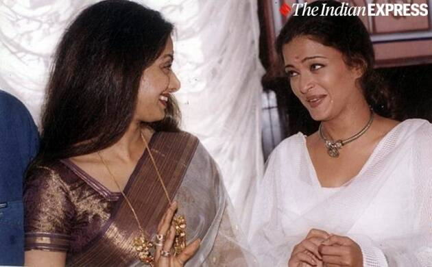 sridevi with aishwarya rai