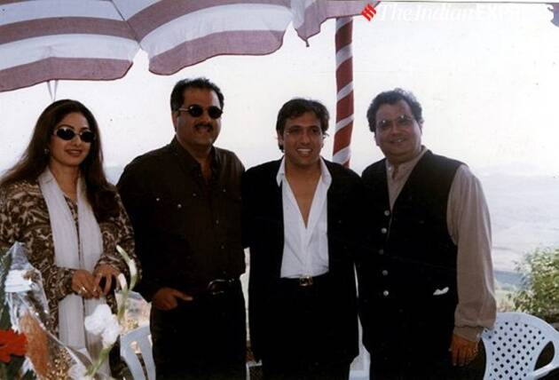 sridevi, boney kapoor, govinda and subhash ghai