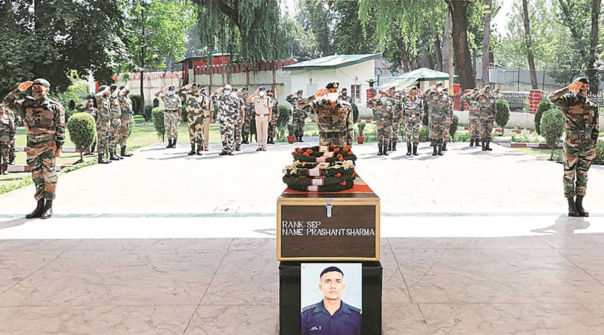 Soldier killed in Pulwama leaves behind dreams of cycling gold