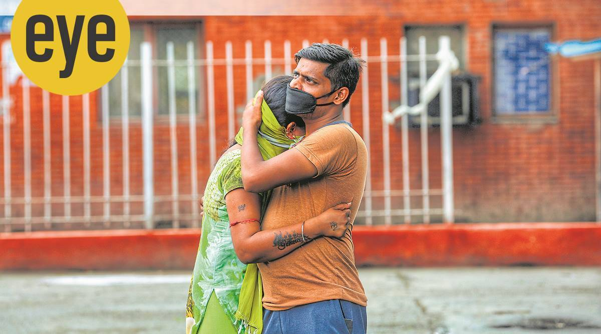 COVID-19 pandemic, mourning, processing grief during COVID-19 pandemic, eye 2020, sunday eye, indian express news