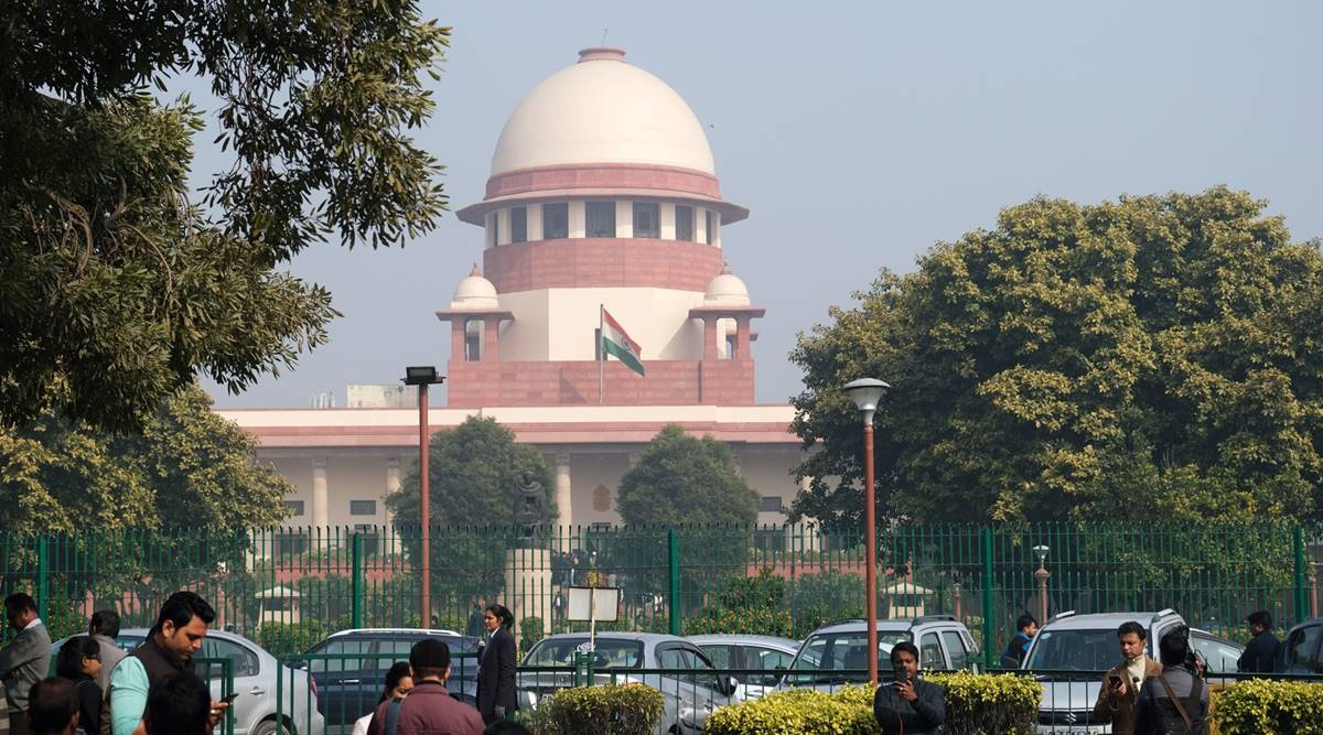 supreme court of india, maratha quota, maratha quota stay by sc, maha vikas aghadi, bjp, indian express news