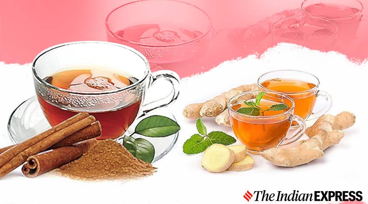 herbal teas, PCOS, period cramps, indianexpress.com, indianexpress, ginger and tulsi tea, cinnamon tea, antioxidant teas, ginger tea,