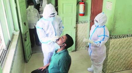 West Bengal, COVID-19, West Bengal coronavirus cases, West Bengal active covid-19 cases, West Bengal death toll, West Bengal news, indian express