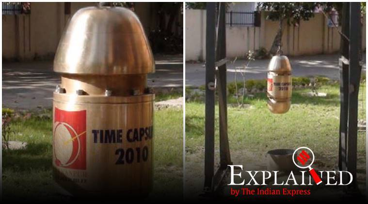 time capsule, historical documents, historical data, ram temple, ayodhya ground breaking ceremony, indian express