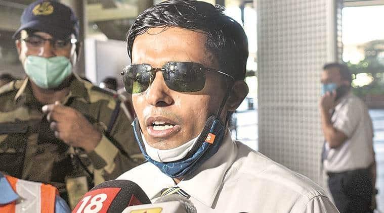 bihar ips officer, bihar ips officer quarantine, bihar ips officer mumbai quarantine, sushant singh rajput suicide case, indian express news