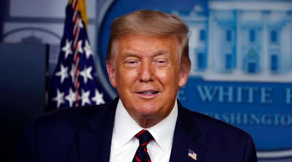 Donald Trump Calls Kamala Harris Meanest And Most Horrible Us Senator World News The Indian Express