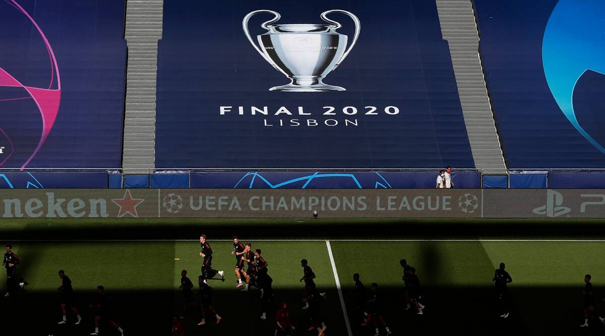 uefa champions league ends with psg bayern final after 425 days of action sports news the indian express uefa champions league ends with psg