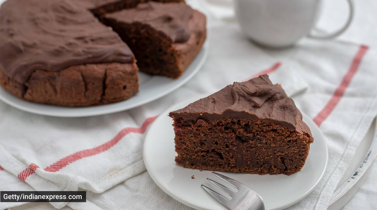 Dessert Recipe This No Bake Vegan Cake Requires Just 3 Ingredients Lifestyle News The Indian Express