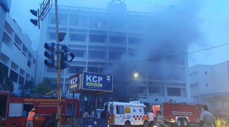 Massive Fire Kills 7, Injures 10 At COVID-19 Facility In Vijayawada