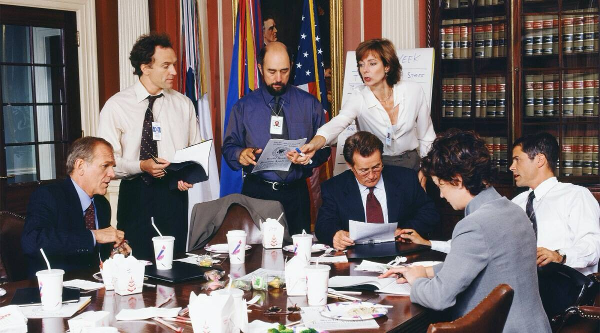 the west wing reunion