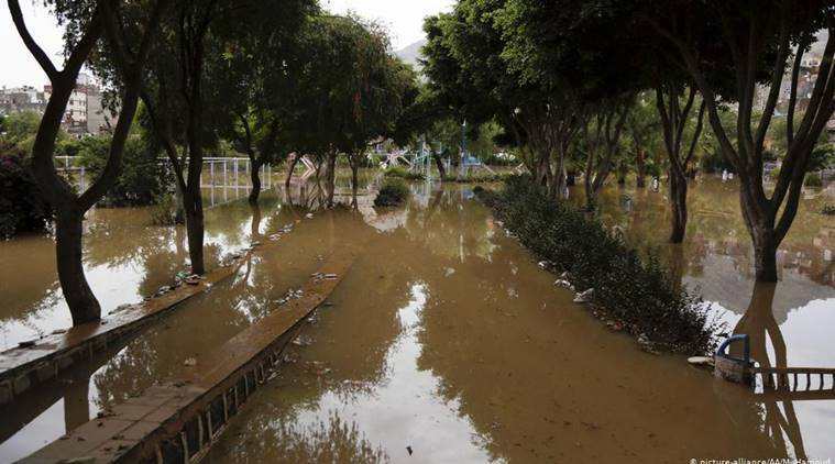 Floods in Yemen kill 130, displace thousands, rebels say