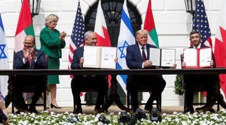 US Israel deal, US Israel peace deal, Israel US peace deal, Donald Trump on US Israel peace deal, World news, Indian Express