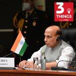India's Defence Minister Rajnath Singh