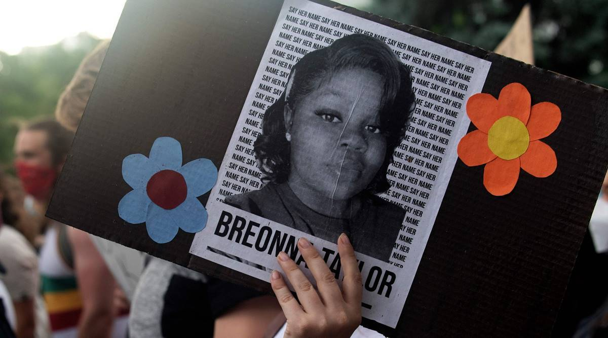 Police Say They Banged On Breonna Taylor S Door 30 To 90 Seconds Recordings World News The Indian Express