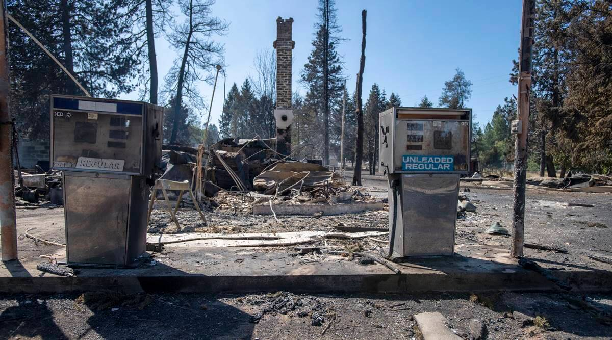 'Unprecedented' Pacific Northwest fires burn 100s of homes