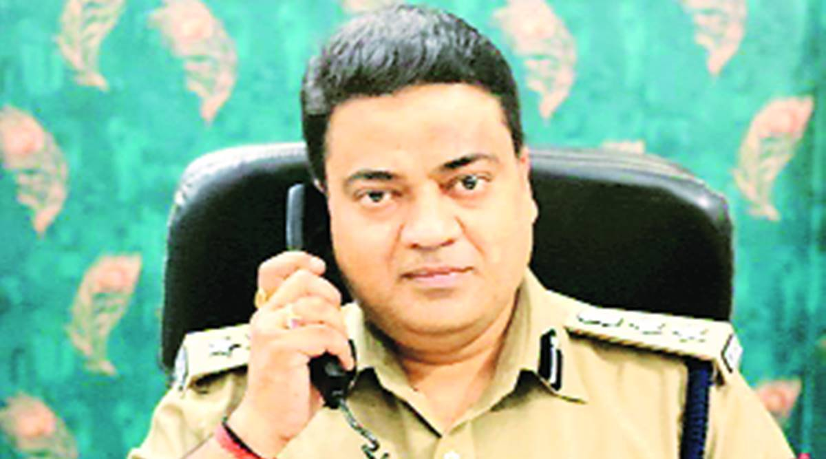 Prayagraj SSP suspended, corruption charges, UP govt, Lucknow news, Indian express news