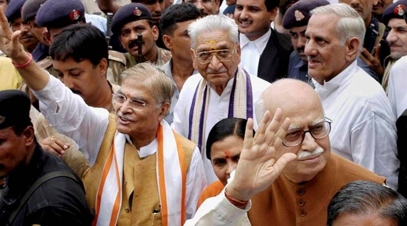 Babri Masjid demolition: Advani, Joshi and Uma among all 32 cleared, court says no evidence