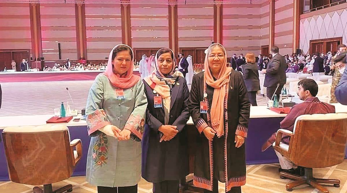 Afghan women in Doha talks team: 'Taliban have to face, respect us'