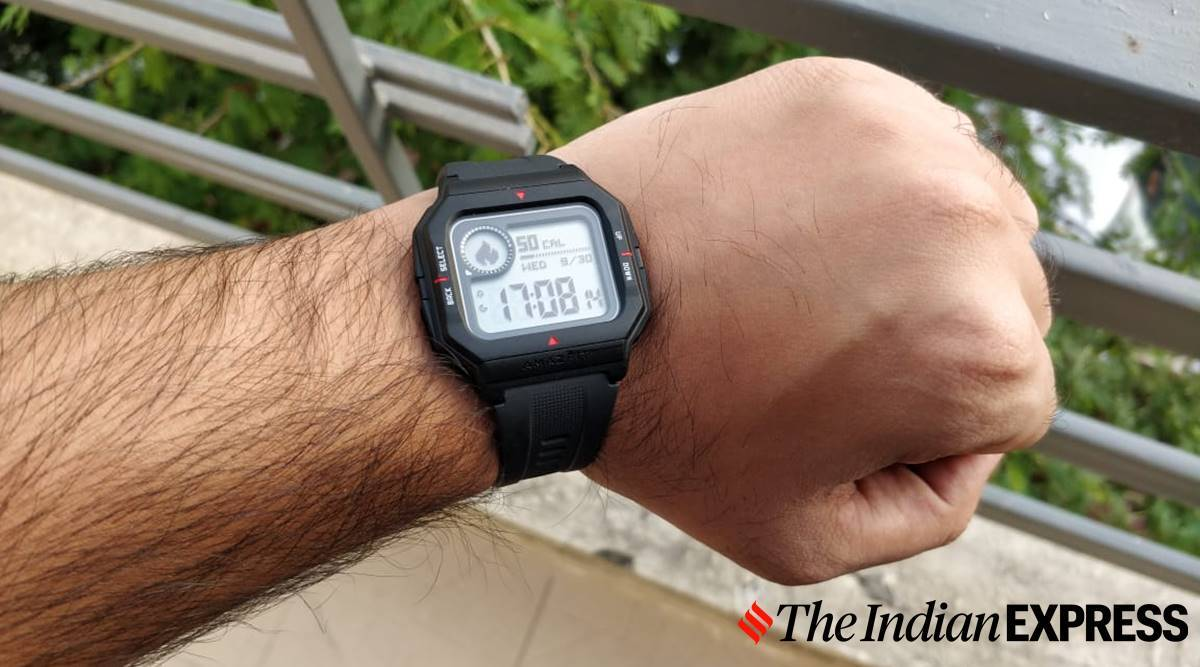 amazfit neo review, amazfit neo first impressions, amazfit neo price india, amazfit neo features, amazfit neo modes, amazfit neo detail review, amazfit neo display