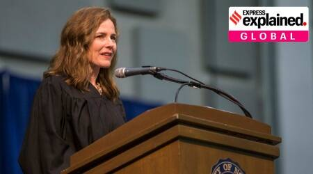 US Supreme Court nominee Amy Coney Barrett, conservative judge Amy Coney Barrett, US supreme court, originalism, us judges originalism, us elections, latest news