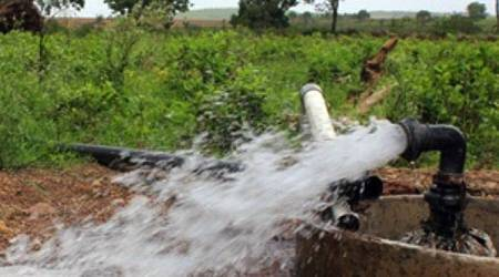 Free bore wells for Andhra farmers with land holdings in arid regions