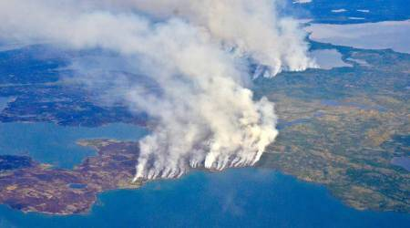 Worst ever Arctic fires released record amount of CO2