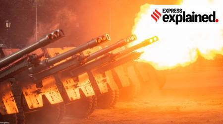 India n Amy, Gunners Day, Role of Artillery, Indian Army Artillery, Express Explained, Indian express news