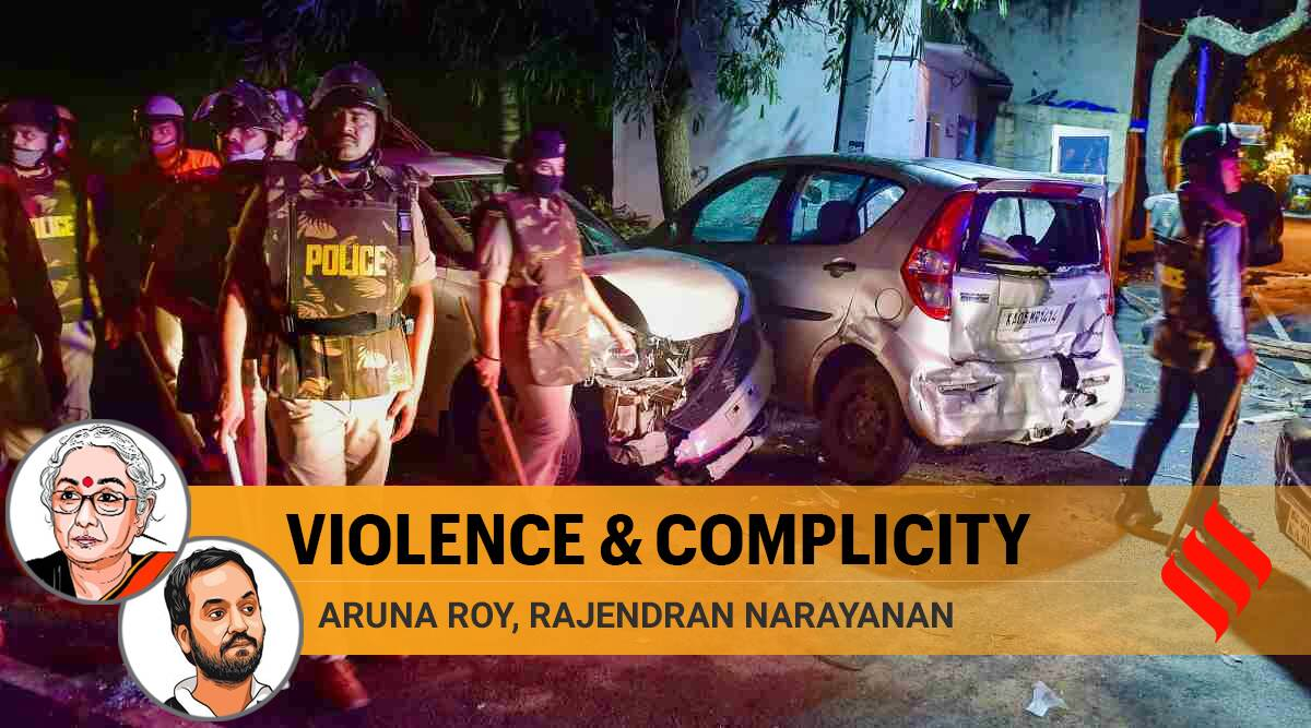 bengaluru violence, caa riots, northeast delhi riots, delhi riots 2020, anurag thakur, kapil mishra, prophet muhammad, Violence against muslims, Indian Express opinion