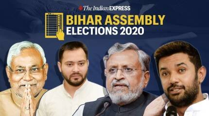 Bihar votes on October 28, November 3 and 7; results on November 10