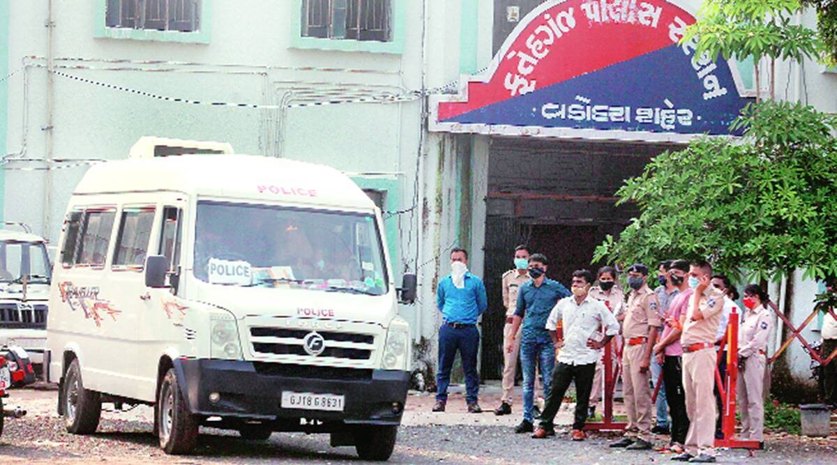 custodial death case, CID probe, vadodara news, gujarat news, Indian express news