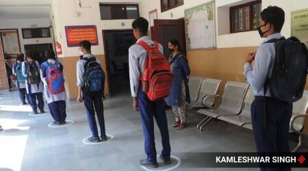 Chandigrah news, Chandigarh schools reopen, Chandigarh coronavirus cases, Chandigarh govt schools, Indian express