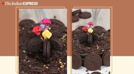 chocolate sponge cake, basic chocolate cake within 30 minutes, indianexpress.com, pankaj bhadouria recipes, indianexpress,