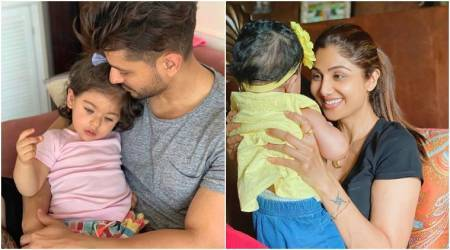 shilpa shetty, amitabh bachchan, kunal kemmu daughter's day photos