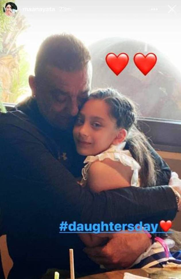 sanjay dutt with iqra