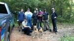 North Carolina, Dog rescue, Dog rescue sinkhole, beef jerky, North Carolina, Trending news, Indian Express news.