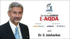 Express E-Adda with Dr S. Jaishankar (Minister of External Affairs)