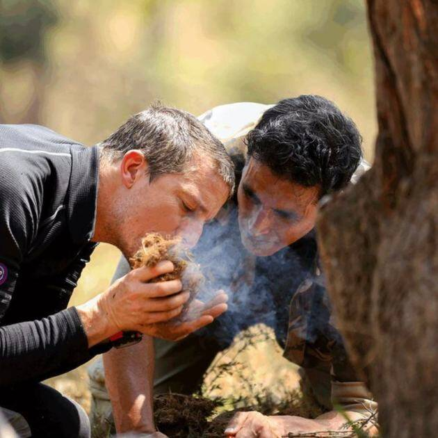 akshay kumar, into the wild, bear grylls