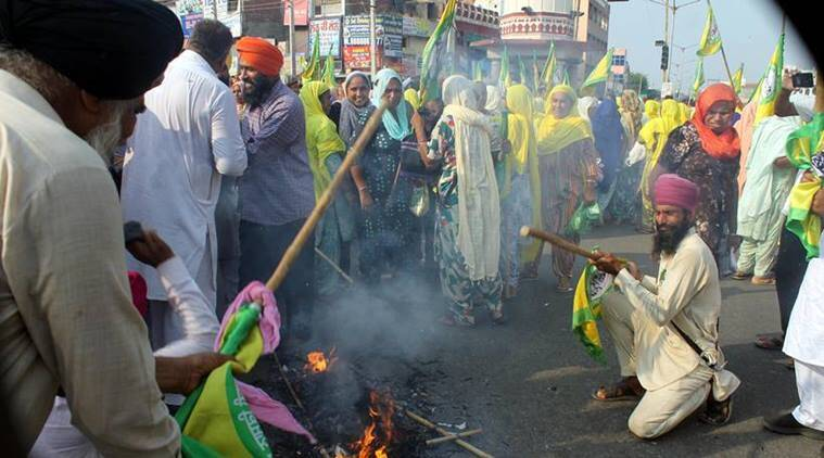 indianexpress.com - IE Online - In Punjab: How farmers protested against the new agriculture Bills